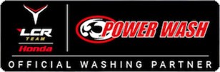 Official washing partner LCR Honda