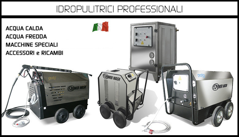 Idropulitrici Power Wash Italiana