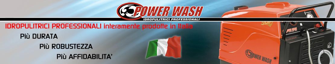 Idropulitrici interamente prodotte in Italia